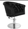 Frisörstol London brun eller svart - Frisörstol London svart