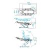 Fotvårdsstol Rom (3 motor)