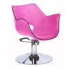 Frisörstol Genf i svart eller rosa - Frisörstol Genf i rosa