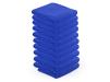 10 stck. Handdukar microfiber färgval vit, blå, svart - 10 stck mikrofiber Handdukar blå