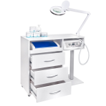 Fotvård SET: Slipmaskin + Rullvagn + Lupplampa + UV-C Steriliser Fotvård