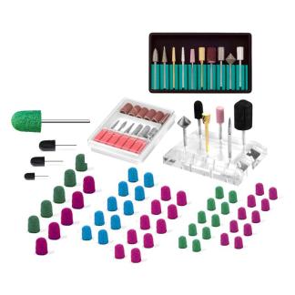 Set: Fräsare gel, akryl, pedikyr och nagelband - Set: Fräser gel, akryl, pedikyr och nagelband