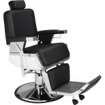 Barber Chair Lord svart eller brun Made in Europe