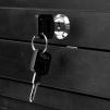 Arbetsbord Miro svart låsbar