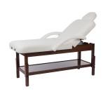 Massagebänk Long färgval brun träram/naturlig träram
