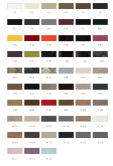 Bänk ROMA Väntsoffa med färgval, producerad i Europa - Väntsoffa ROMA i färg P-xx