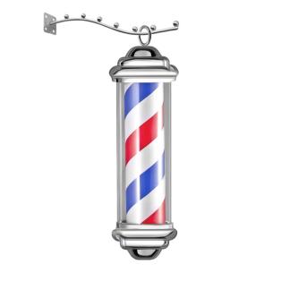 Barber Pole Rotating&Light - Barber Pole small Rotating&Light