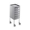 Arbetsbord Rialto svart eller grå Made in Europe - Arbetsbord Rialto grå