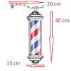 Barber Pole Rotating&Light