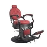 Barber Chair Wayne Retro röd