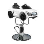 Barnfrisörstol Audi i vit