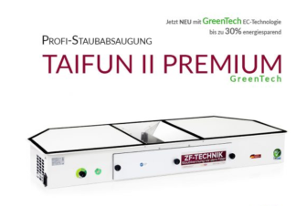 Prof. Bordsutsug Taifun Model II GREENTECH LA Premium Made in Germany - Prof. Bordsutsug Taifun II greentech
