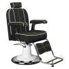Barber Chair Frisörstol unisex TOMMY Make Up Stol i svart