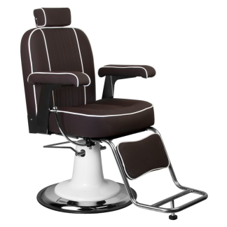 Barber Chair Frisörstol unisex TOMMY Make Up Stol i brun - Barber Chair Frisörstol unisex TOMMY Make Up Stol i brun