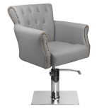 Frisörstol Elin i grå