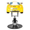 Barnklippstol Porsche yellow