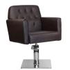 Frisörstol BELLE i brun - Frisörstol BELLE i brun