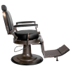 Barber Chair Red STAR