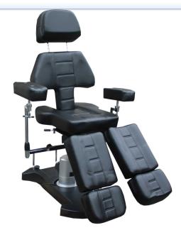 Tattoo stol med elektrisk höjdjustering - Tattoo stol med elektrisk höjdjustering