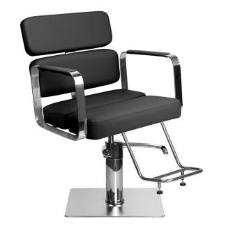 Frisörstol Kundstol i svart Make Up Stol - Frisörstol Kundstol i svart Make Up Stol