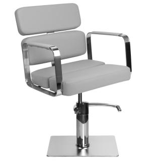 Frisörstol Kundstol i grå Make Up Stol - Frisörstol Kundstol i grå Make Up Stol
