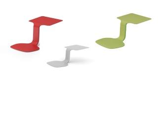 10 stck. ZTOOL färgval bärbar plats med bord - 10 stck. ZTOOL färgval bärbar plats med bord