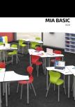 Mia Basic Skolstol 8 stck färgval