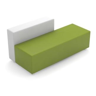 Soffa Modern - Soffa Modern GRÖN/VIT