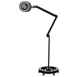 Förstoringslampa Lupplampa BLACK STAR med 5 diopter låg energiförbrukning