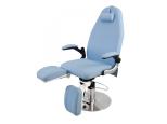 Hydr. Fotvårdstol Alcor i blå eller vit