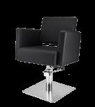 Frisörstol Premium S svart