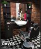 Barber Arbetsplats Davos UTAN HANDFAT Made in EUROPE