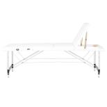 Bärbar Massagesäng COMFORT med bärväska i vit