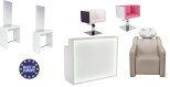 Paketpris Salong BELLINI med 6 Produkter Made in Europe färgval