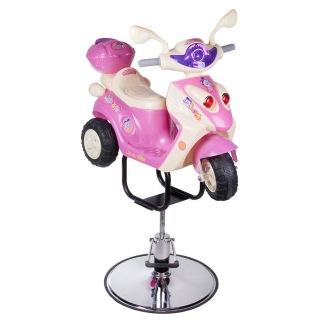 Barnklippstol RACER Pink - Barnklippstol RACER Pink