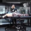 Tattoostol Design svart Elektrisk höjdjustering med fotpedal - Tattoostol Design svart