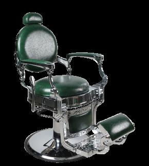 Barber Chair TOM i GRÖN - Barber Chair TOM i GRÖN
