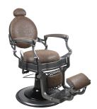 Barber Chair TOM i brun
