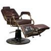 Barber Chair Boss brun & cognac - Barber Chair Boss brun II