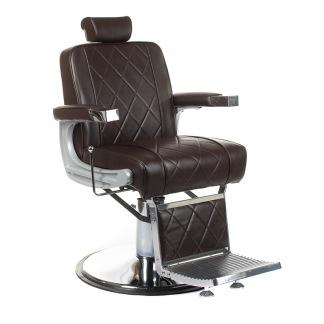 Barber Chair BARDO svart eller brun - Barber Chair BARDO i BRUN