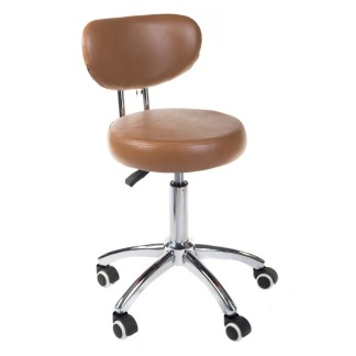 Arbetsstol SAM i brun eller svart - Arbetsstol SAM i BRUN