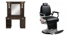 Paketpris Barber Chair TIGER & LEXUS Made in Europe