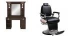 Paketpris Barber Chair TIGER & LEXUS Made in Europe