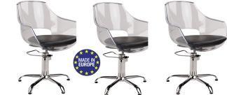 3 x Kundstol Ghos med starbase Made in Europe - 3 x Kundstol Ghos med starbase Made in Europe