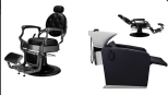 Paketpris 2 x Barber Chair TOM 1 x Schamponering ASTON
