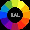 Arbetsplats Reflection Island R  Dubble med färgval - Made in Europe - Arbetsplats Reflection II R i RAL färg