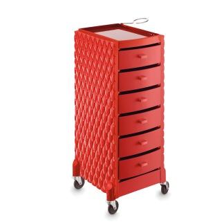 Arbetsbort Deco röd - Made in Europe - Arbetsbort Deco röd - Made in Europe