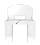 Prof. Plexiglas skyddskiva för nagelbord utan montering