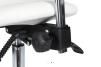Arbetsstol ELI Sadelpall vitt med Speedhjul Sätes höjd: 56-76cm
