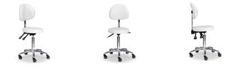 Arbetsstol RITA med Speedhjul Säteshöjden: 53-73cm - Arbetsstol RITA med Speedhjul